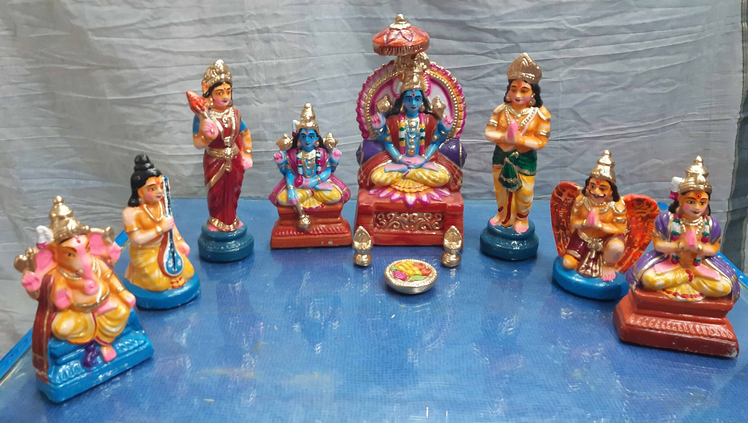 BADRINATH SET-CLAY – Welcome to Divine Collections